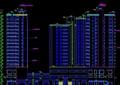 详细的高层小区住宅建筑cad施工图