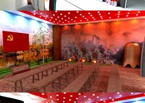 党建活动室、党员活动室、荣誉室