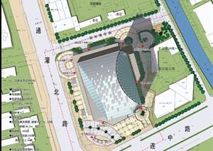 酒店设计建筑设计图纸全套(CAD SU(草图大师) 文本)仅供参考