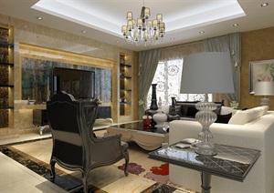 简欧风格别墅设计,室内环艺毕业设计,支持定制,有成品