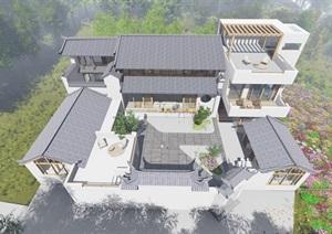 沙溪民宿设计,室内毕业设计,外观建筑设计,室内装饰设计