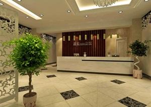 SPA会所设计,室内毕业设计代做,成品设计