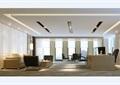现代详细的办公空间装饰cad施工图+效果图