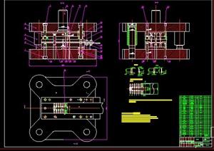 止动件零件的冲压模具设计,机械设计,毕业设计,CAD图纸,设计说明