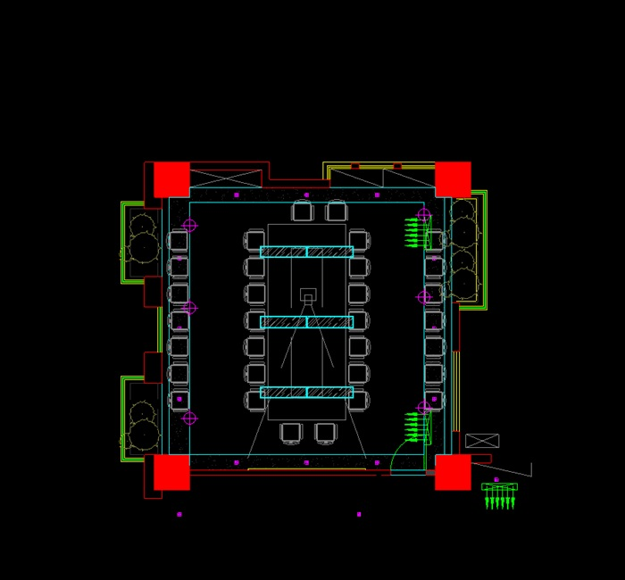 #S206-【裝修報價】工裝公司價格表 裝飾預算模板底價辦公商場室內(1)(1)
