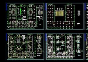 完整的详细建筑结构cad标准图