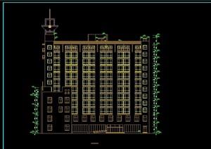 某现代风格详细的高层酒店建筑设计cad施工图