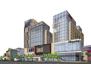 某市商业综合酒店 soho 方案