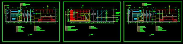 經典小戶型裝修 施工圖(3)