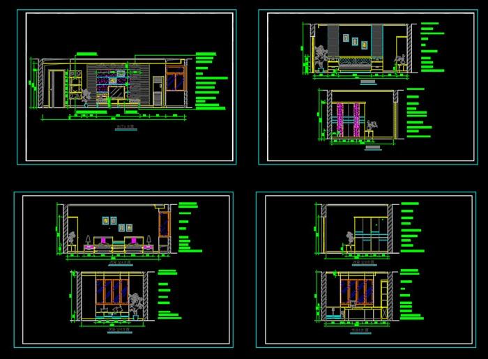 經典住宅裝修  施工圖(3)