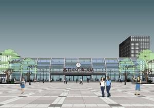 高县中心客运站 站房设计方案二