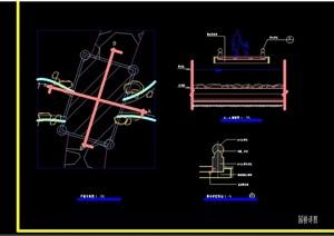 详细的完整现代过河园桥cad详图